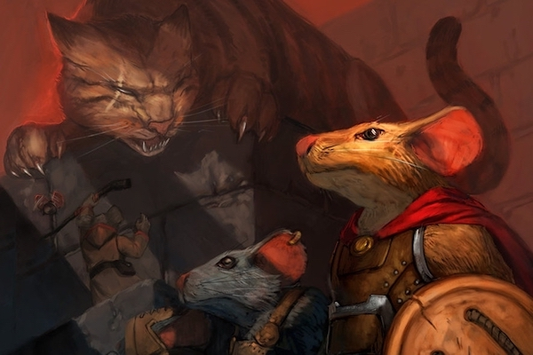Fluency Friday | Mice & Mystics: games and storytelling in English!